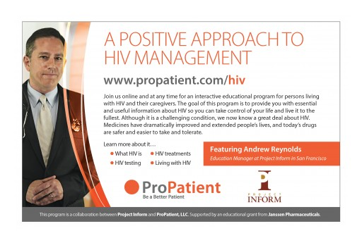 A Positive Approach to HIV Management